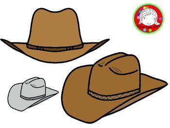 Cowboy Hat Clipart Personal Commercial Use Cowboy Hats Hats Clip Art