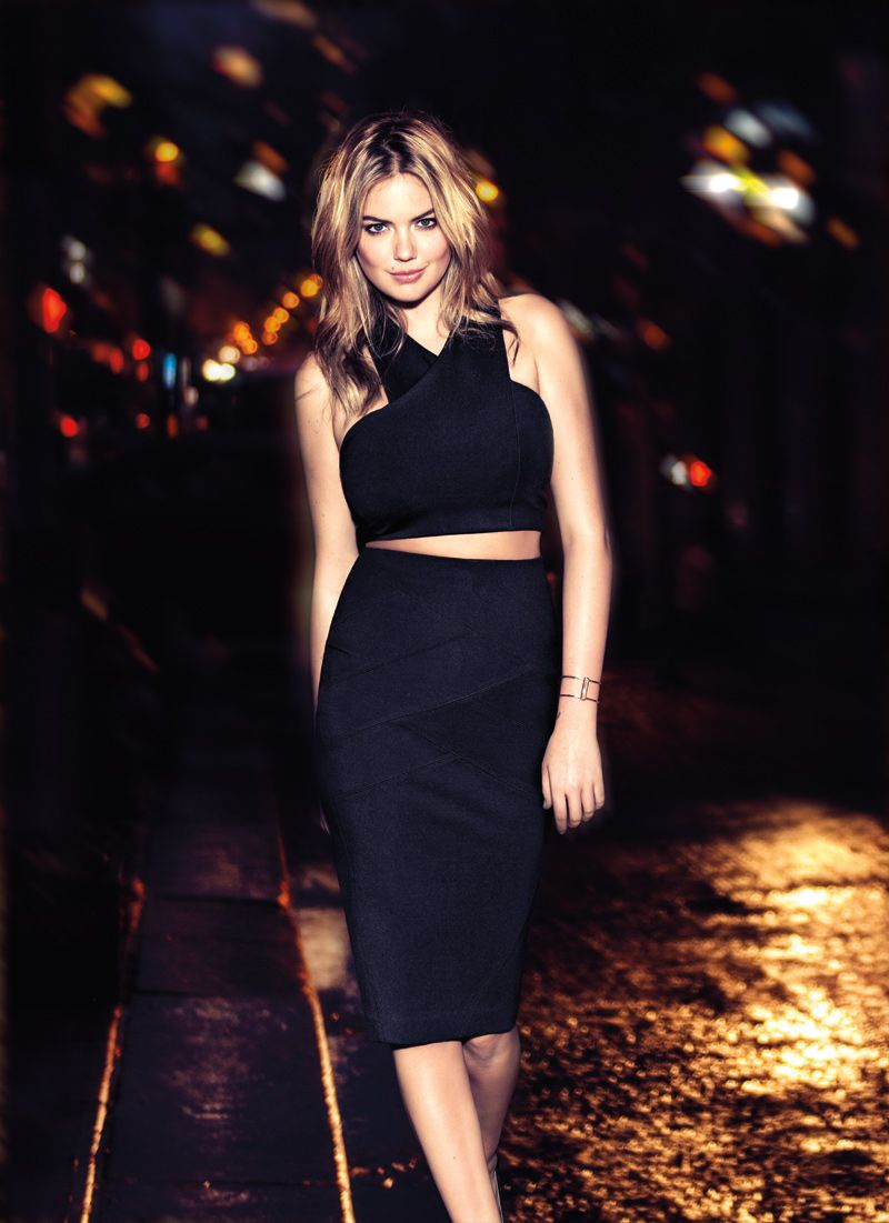 Kate Upton is lovely, charming and the new face of Express Jeans ...