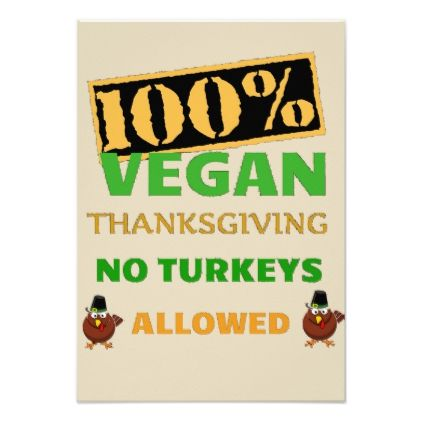 Go Vegan Thanksgiving Invitation  Thanksgiving Invitations