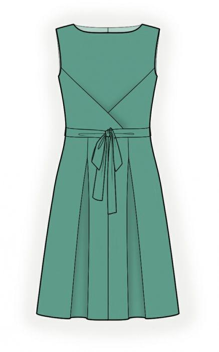 Kleid - Schnittmuster #4356   Schnittmuster Indie   Pinterest ...