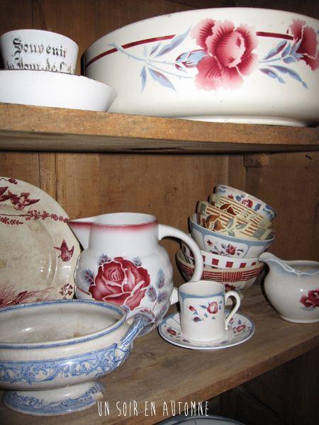 vaisselle ancienne vaisselle ancienne pinterest vaisselle ancienne ancien et faience. Black Bedroom Furniture Sets. Home Design Ideas
