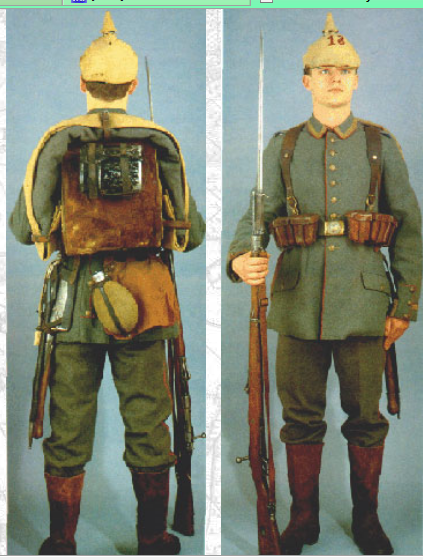 German uniforms WWI, eastern front 1914. | Historical Armies: The ...