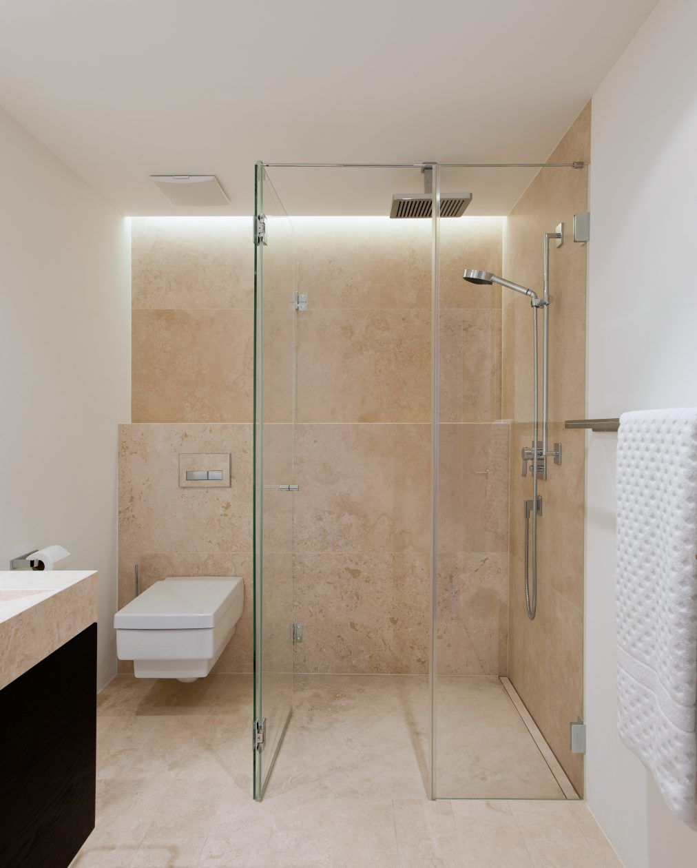 Badezimmer Fliesen Deckenhoch | Badezimmer Fliesen Ideen Braun Luxus ...