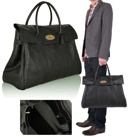 3a849ea886 Mulberry Piccadilly Overnight Bag in Black The Mulberry Piccadilly is an  overnight bag designed for men and women
