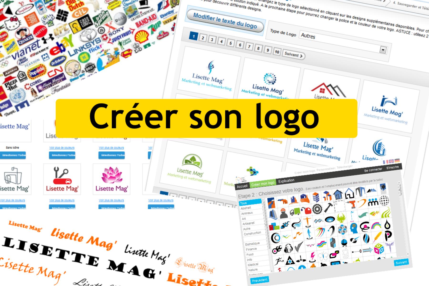 Créer son logo en 2020 Créer un logo, Jeu de langage, Logos