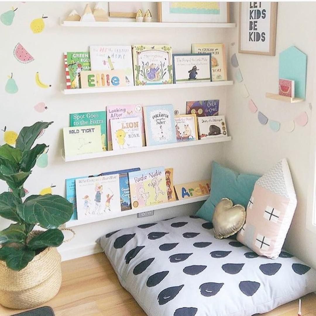 Pillow play room in 2018 pinterest enfant chambre enfant and salle de jeux - Coin lecture chambre fille ...