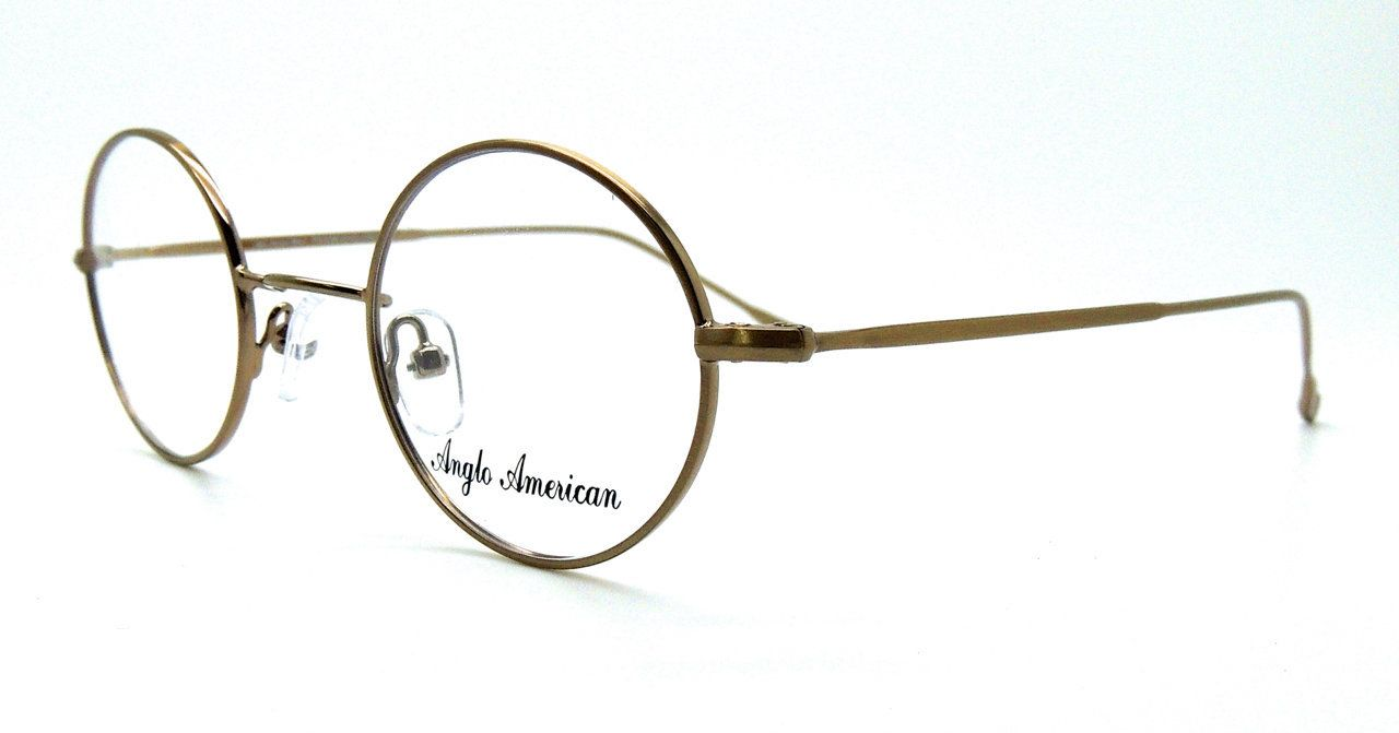 The Old Glasses Shop - Anglo American 40P Round Lightweight Metal ...