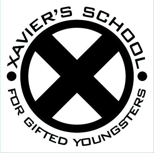 X Men Xavier School For Gifted Youngsters Decal Sticker Men Logo X Men Funny X Men