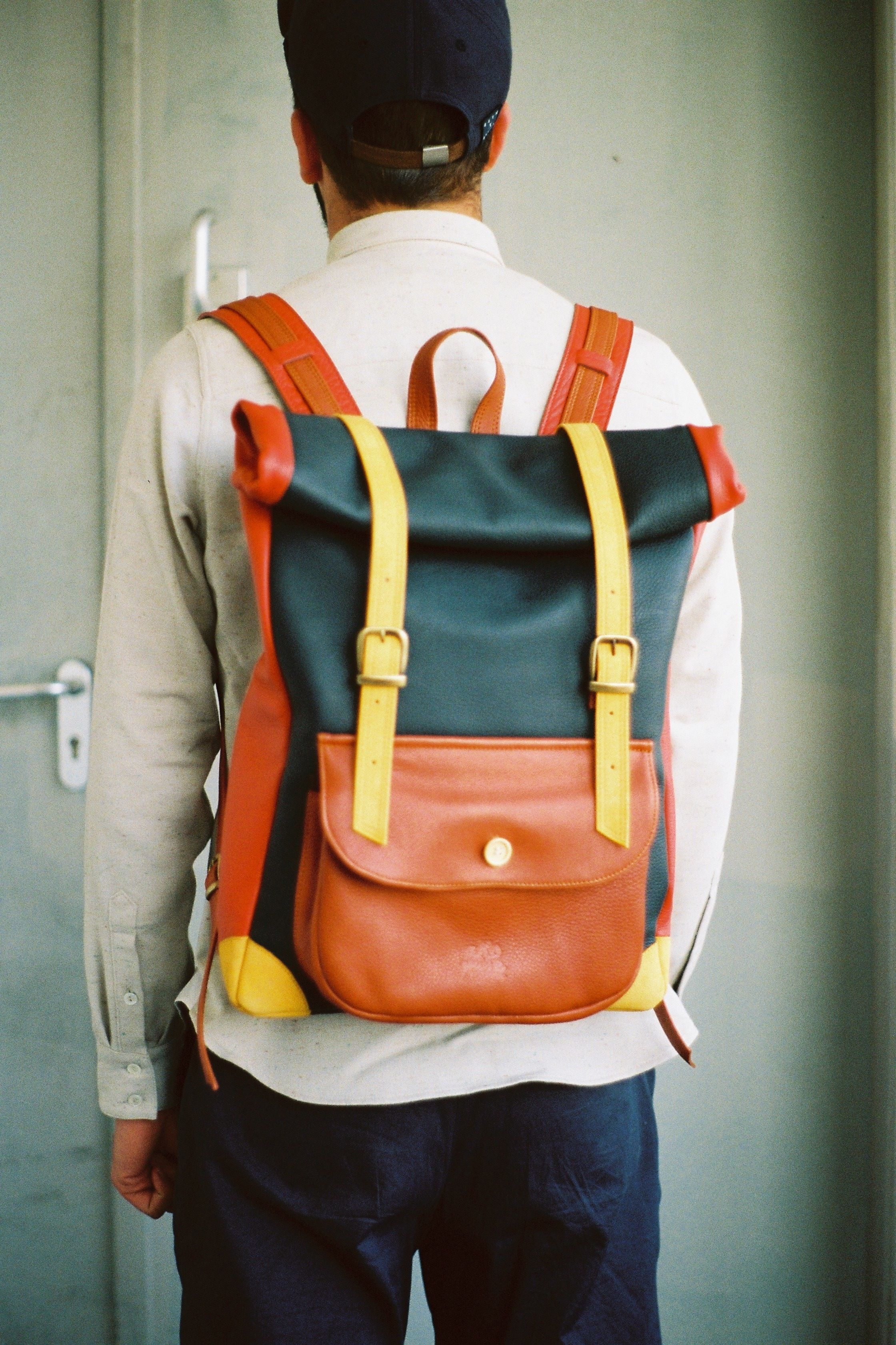 A Kind Of Guise - Rolled Backpack:  I would actually bag-jack someone for this. All leather madness from the people of AKoG. They also do an all red version which is equally as bold.