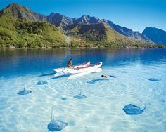 35 Clearest Waters In The World To Swim/Paddle In Before You Die