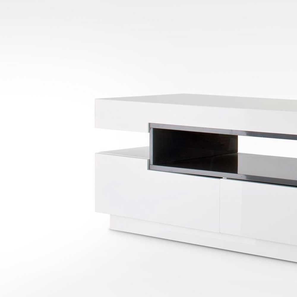 Sideboard Weiß Holz Modern