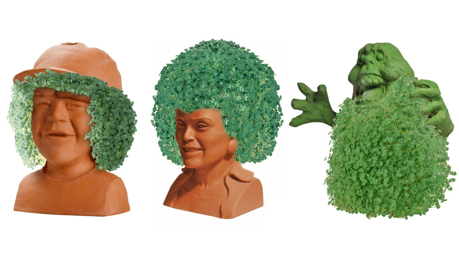 Rick And Morty Stranger Things And Ghostbusters Chia Pets Are