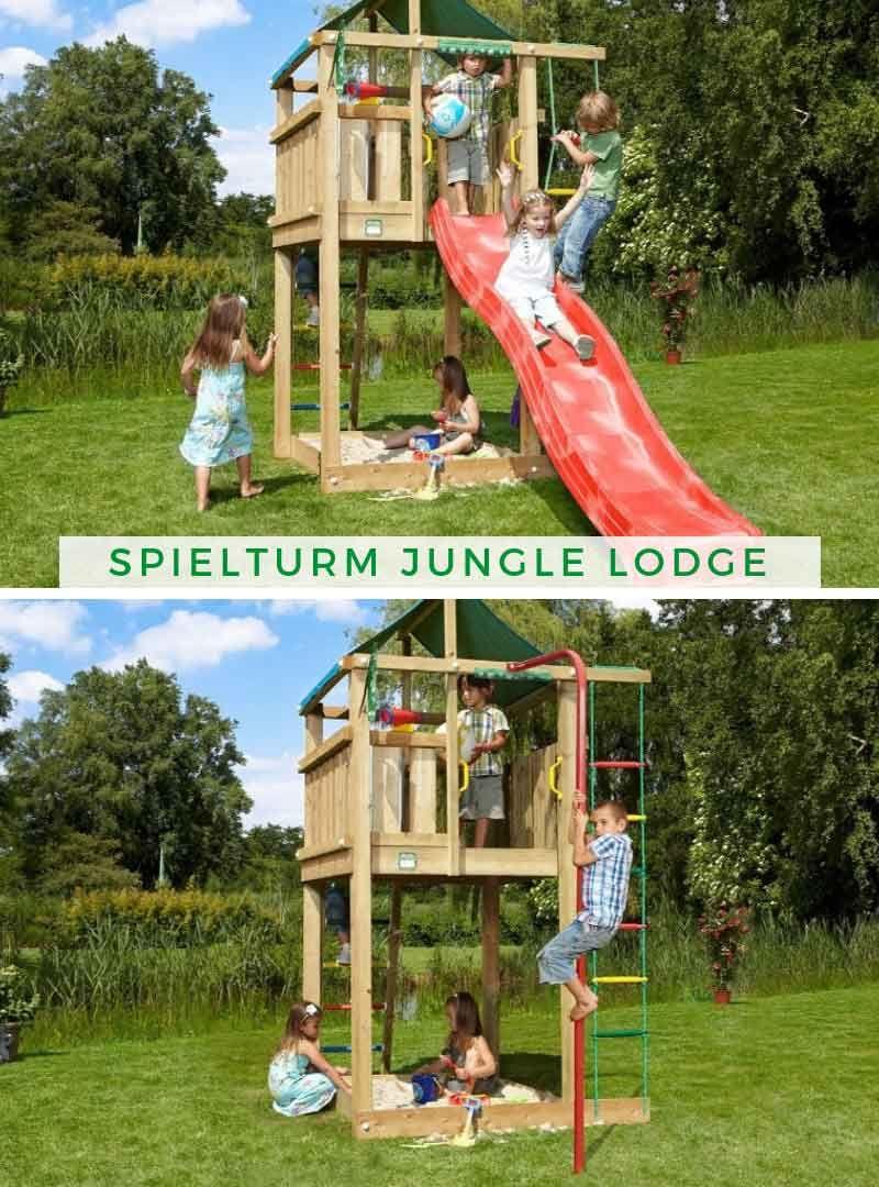 Spielturm Jungle Lodge Spielturm Kinderspielplatz Turm