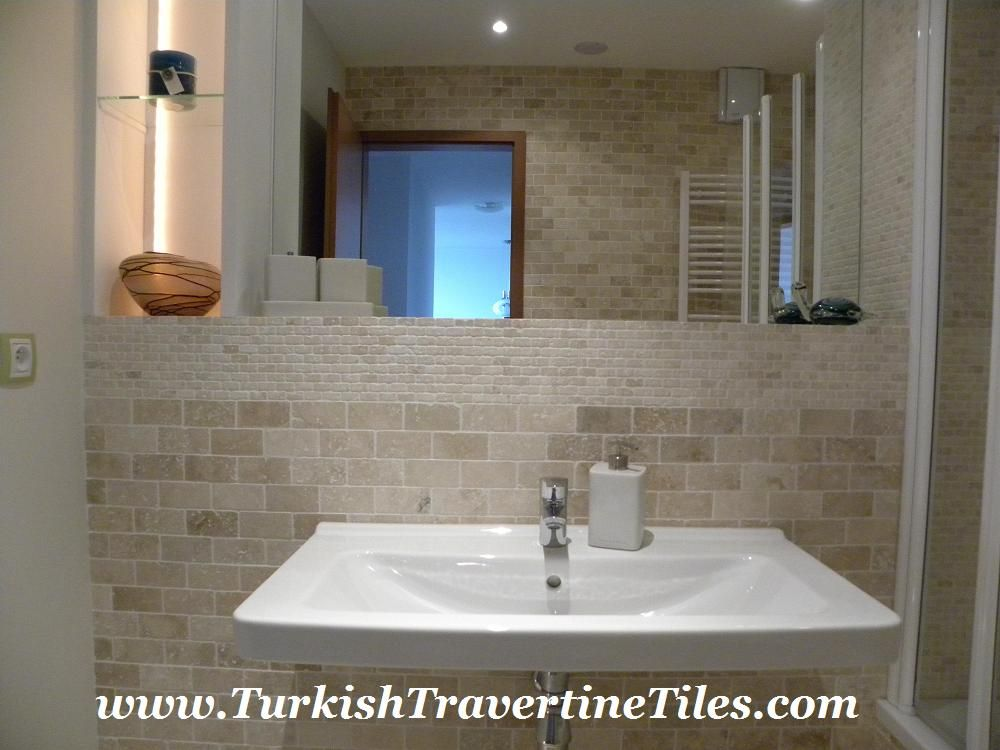 Contemporary Art Websites travertine bathroom tile Google Search