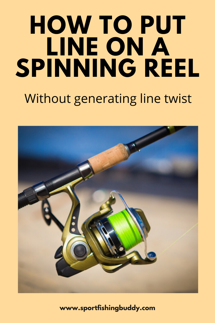 How To Spool A Spinning Reel Spinning Reels Spinning Spool