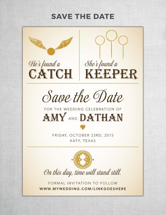 harry potter save the date diy printable products in 2018