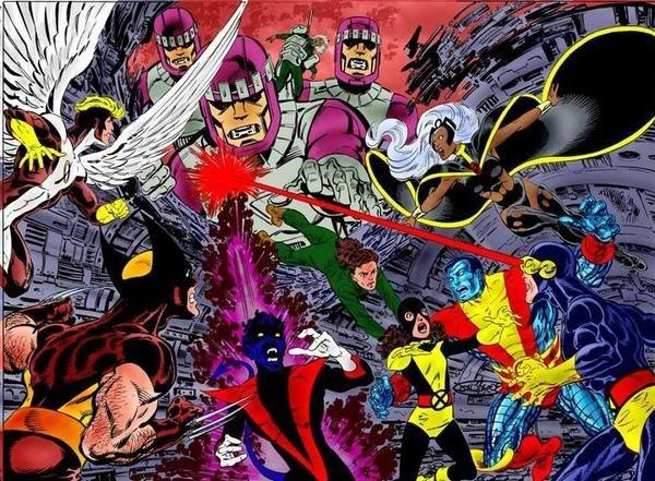 X-Men:Days of Future Past  john byrne