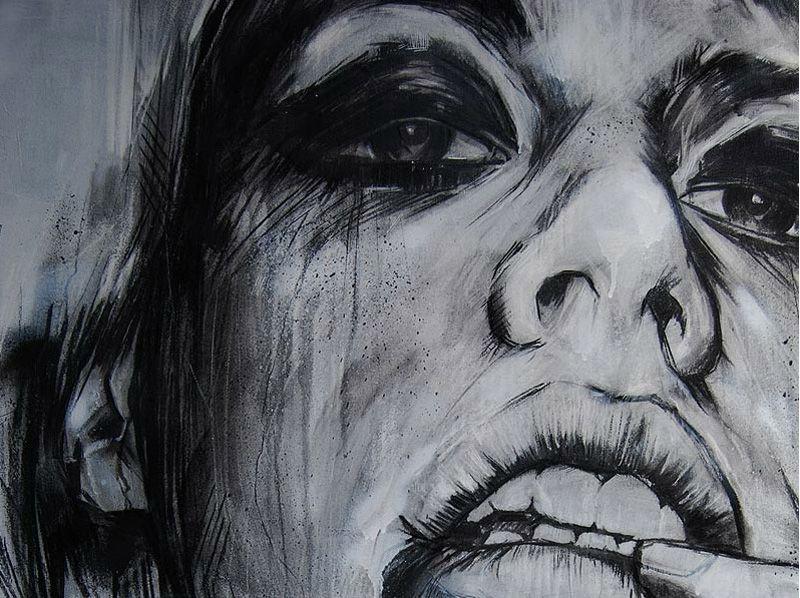 RUSS MILLS INTERVIEW Portraiture drawing