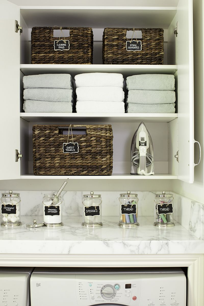Ordinaire Tips For Organizing A Laundry Room. By Pottery Barn. (Ya Have To Love Pottery  Barn!)