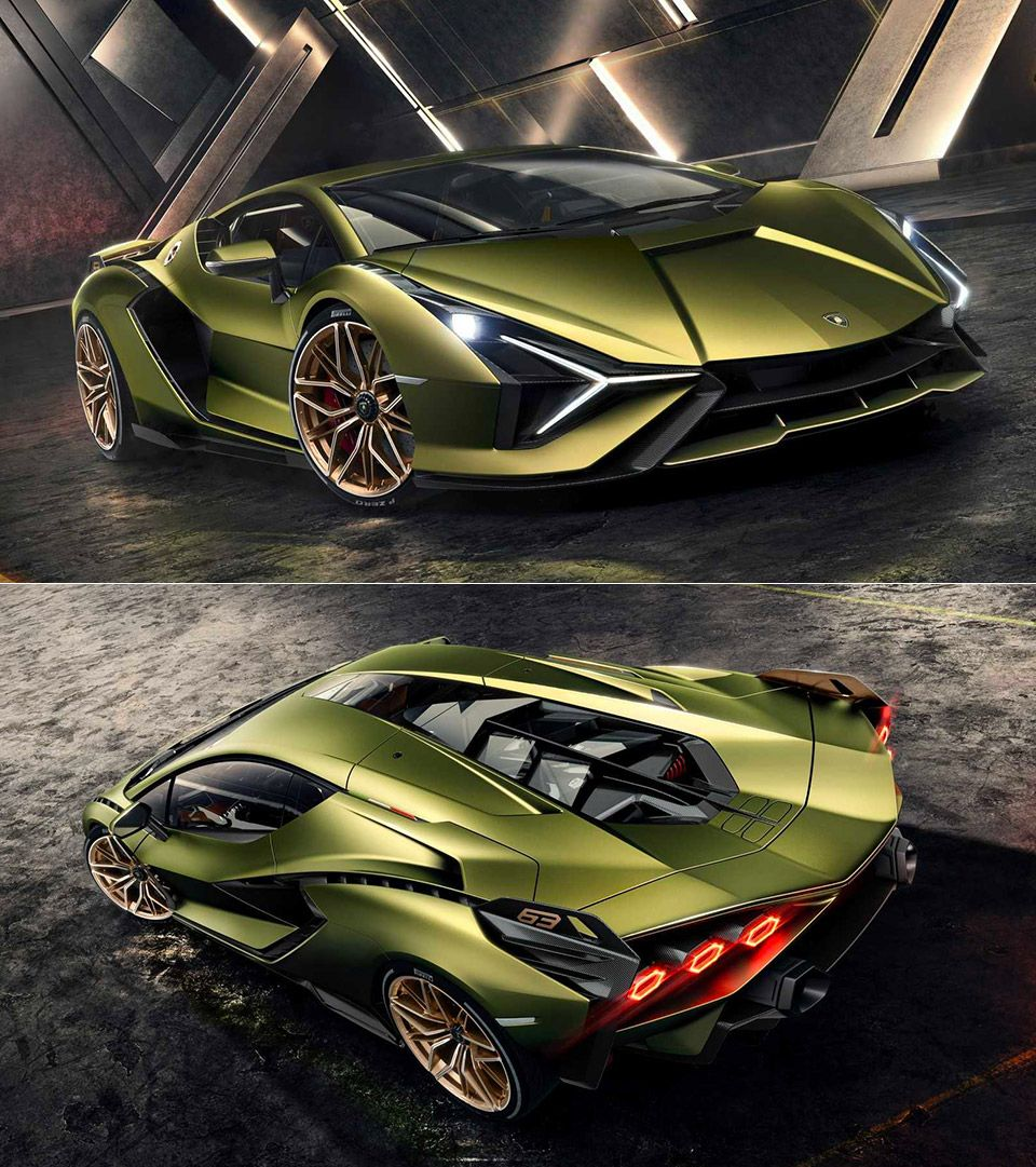 Photo of Lamborghini Sian unveiled, is company's first hybrid sup…