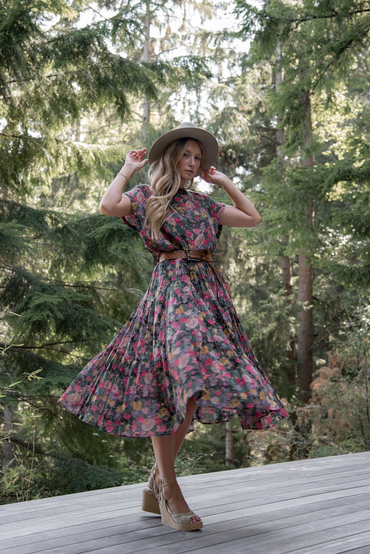 Reserved 80s Floral Cotton Dress Bila Vintage Indian Cotton Etsy Floral Cotton Dress Cotton Gauze Dress Dresses [ 3000 x 2003 Pixel ]