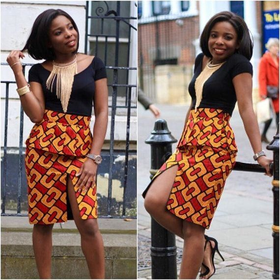15+ Ankara Styles For Teen Girls In Uptown #afrikanischerdruck