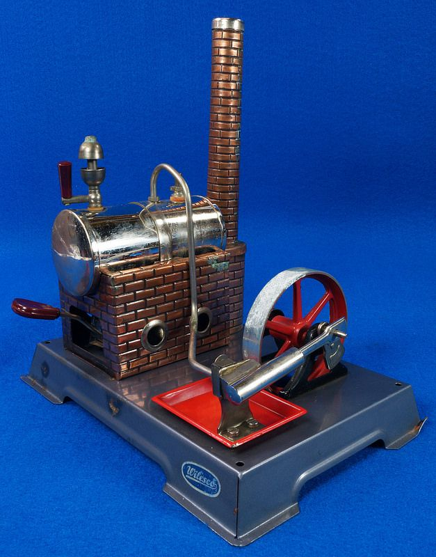 Vintage Toy Wilesco D5 Steam Engine Made In Germany To see the Price and  Detailed Description