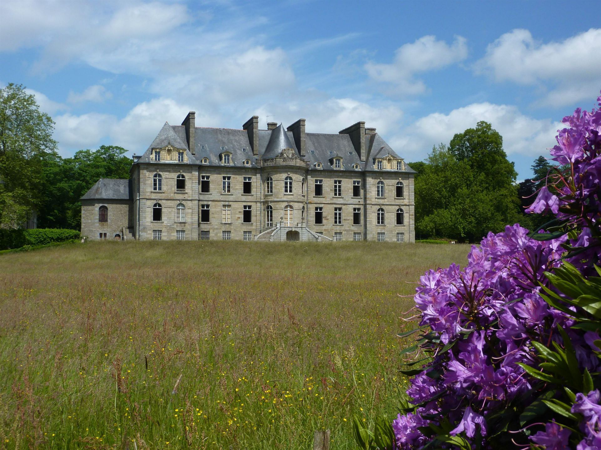 castle french houses real estate pinterest