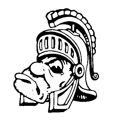 msu mascot coloring pages | Images michigan state logo white page 3 | mascots | Pinterest