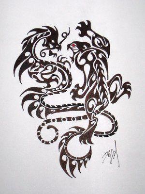 Lion dragon
