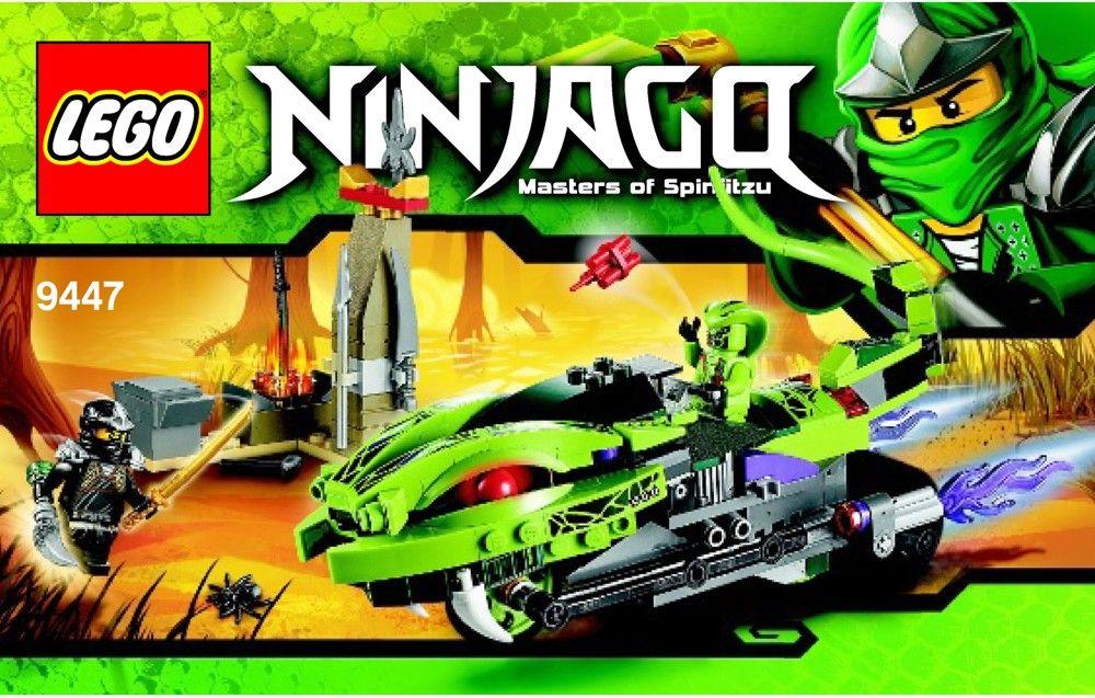 LEGO Ninjago 9447 Lasha/'s Bite Cycle CA