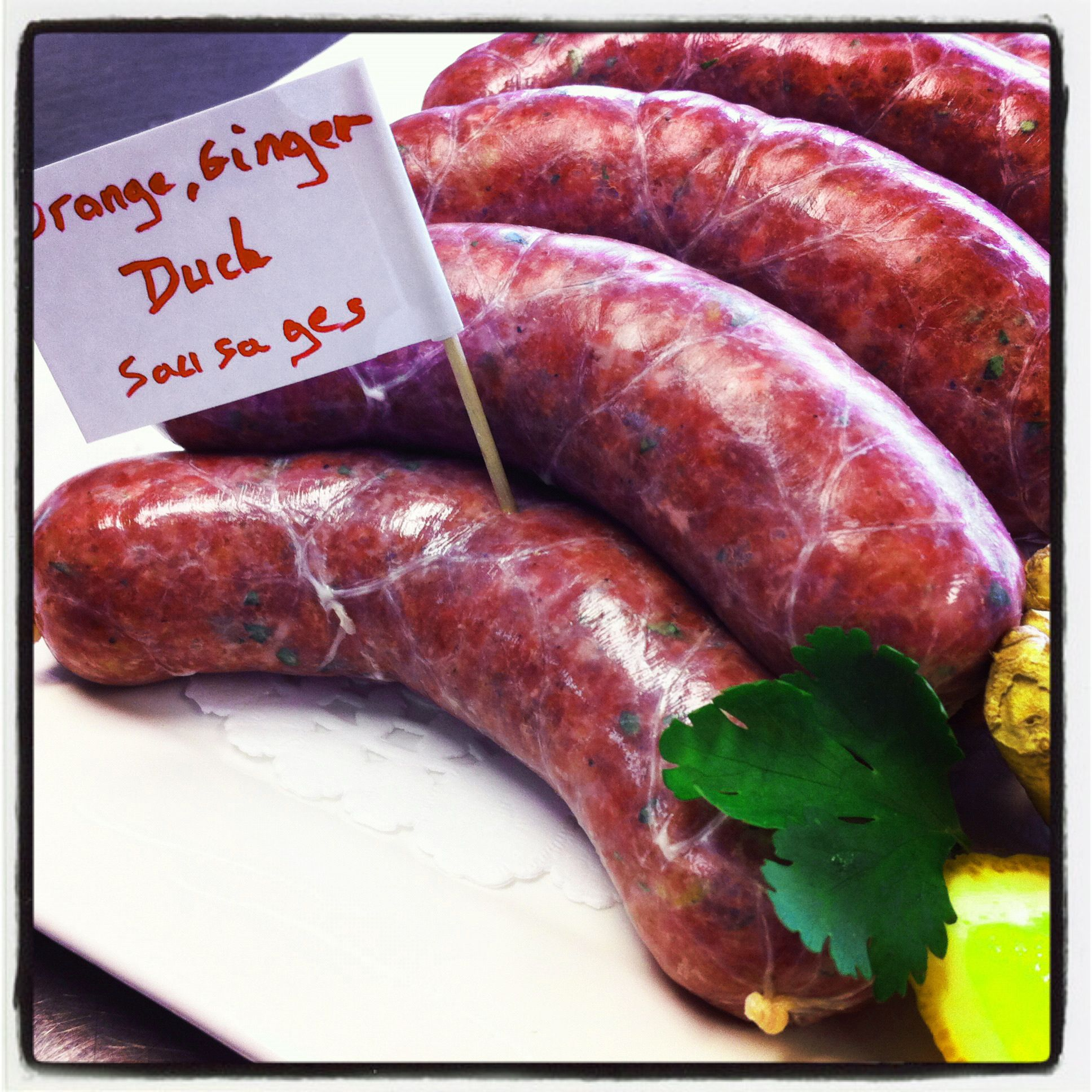 Back By Popular Demand Duck Sausage Duck Sausage Cooking Charcuterie