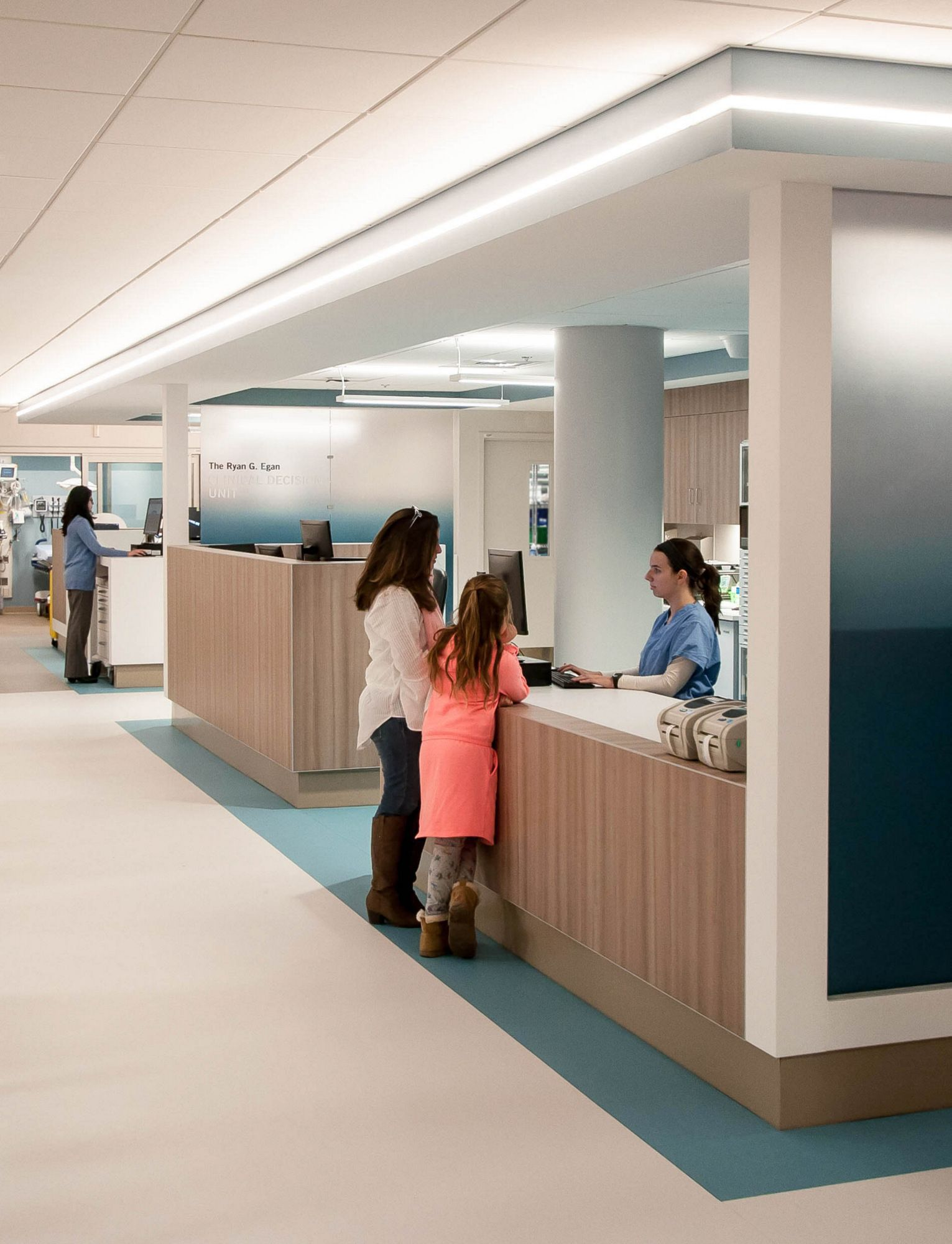 Emergency department of newport hospital in 2020