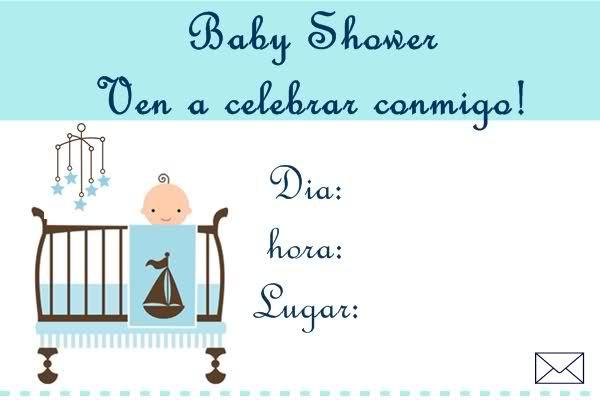 Invitaciónes Virtuales Para Baby Shower Para Facebook