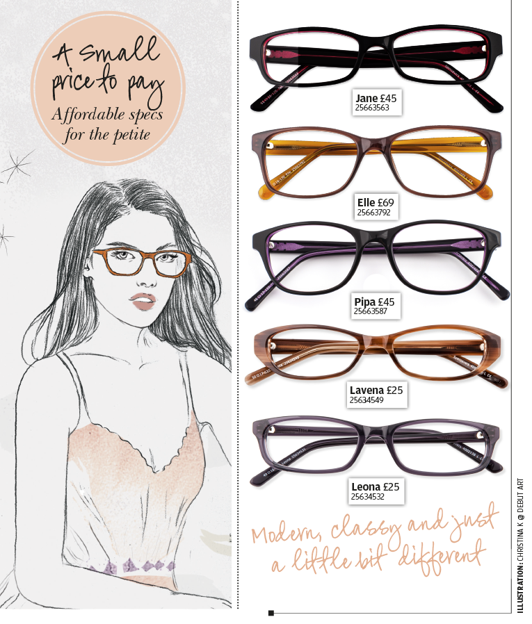 Petite women s glasses for smaller faces.  57c98820b