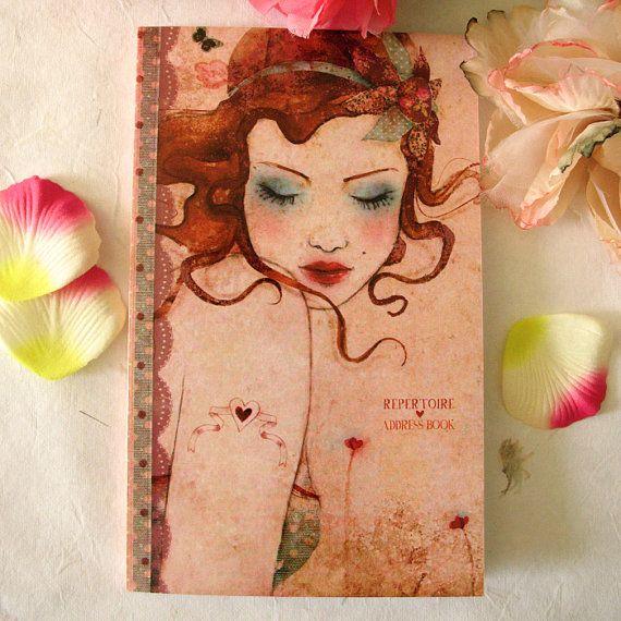 Address Book  Lolita by Minasmoke on Etsy, $19.00