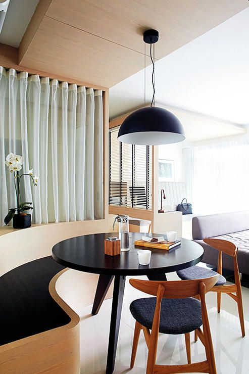 42++ Small space round dining table Inspiration