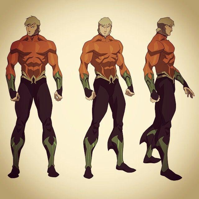 Justice League Throne Of Atlantis Superhero Design