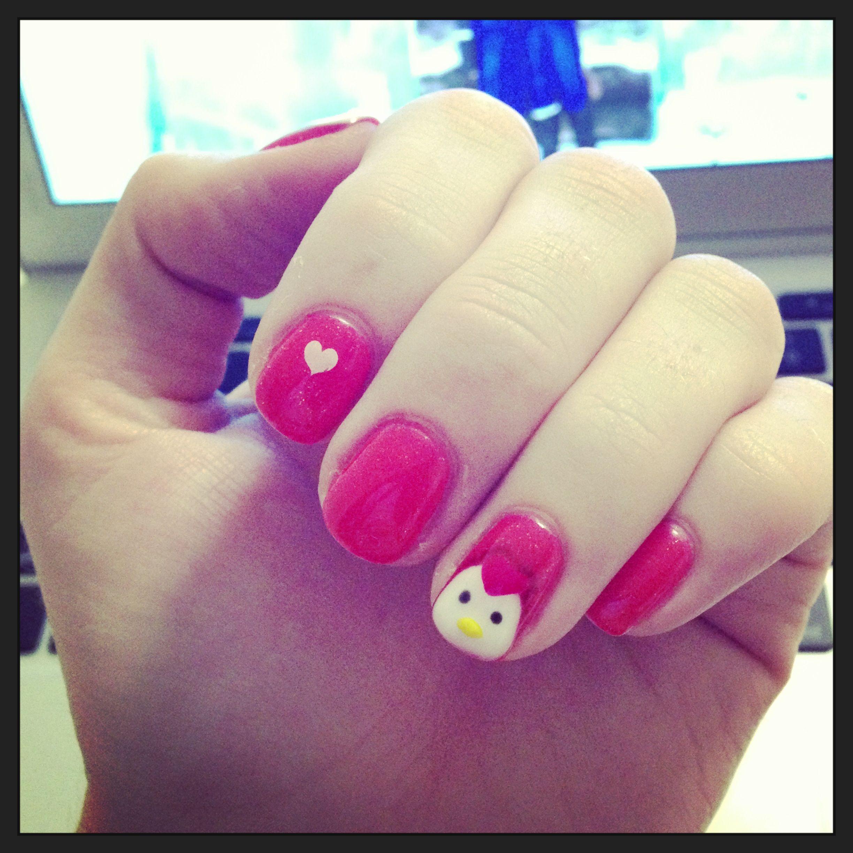 chickens nail art ideas