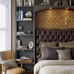 Headboard With Storage Design, Pictures, Remodel, Decor and Ideas - page 3