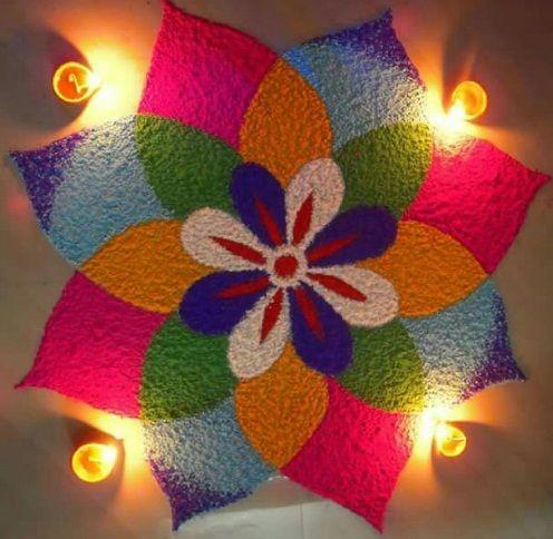 25 Exclusive Rangoli Designs For Diwali 2020   Sty