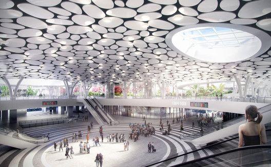 Mecanoo divulga projeto para uma estação de trem em Taiwan,Cortesia de Mecanoo