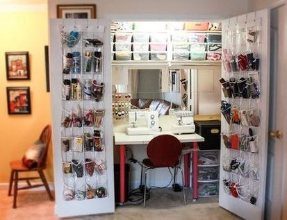 agencement de votre pi ce couture 3 bricolage pinterest sewing rooms hobby room and. Black Bedroom Furniture Sets. Home Design Ideas
