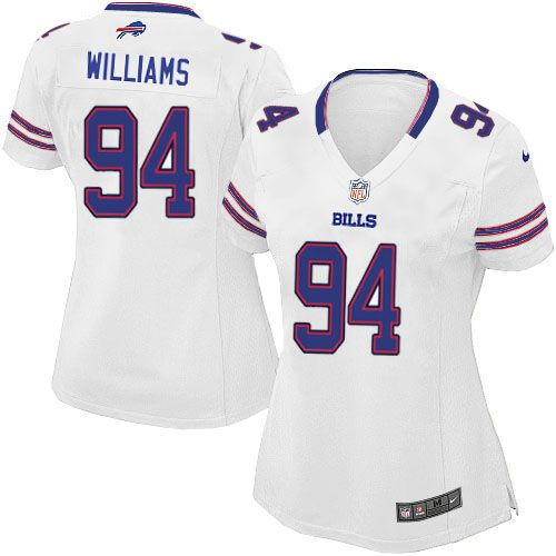 nike buffalo bills women white jersey 94 elite mario williams nfl jersey sale