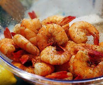 Cajun Beer Boiled Shrimp