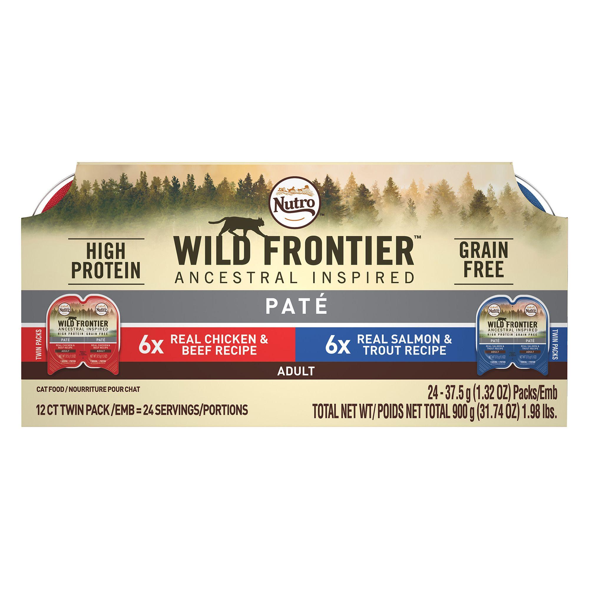 Nutro Wild Frontier Adult Cat Food Natural Grain Free Multi