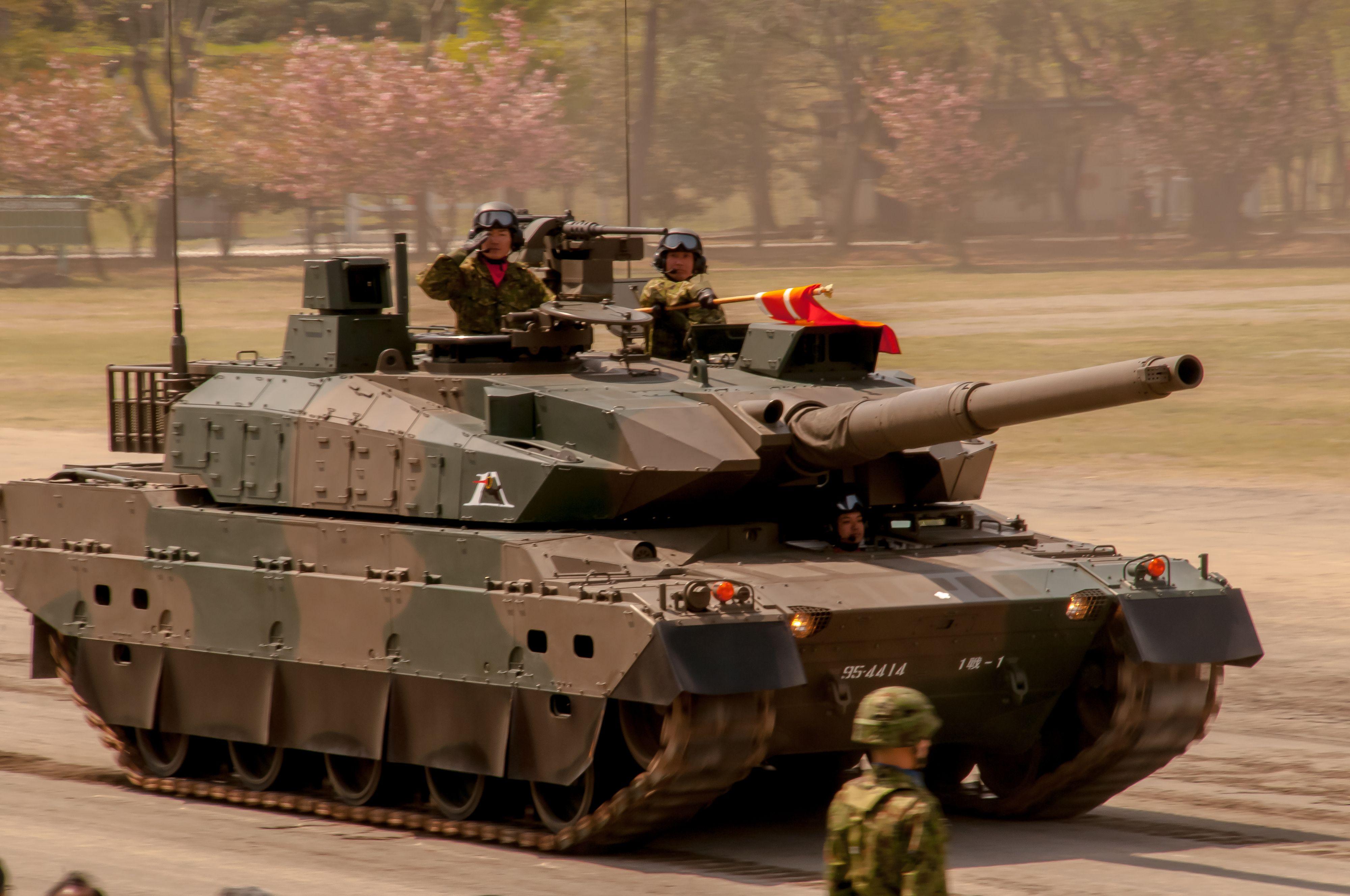 JGSDF 1st Division Type10Tank.