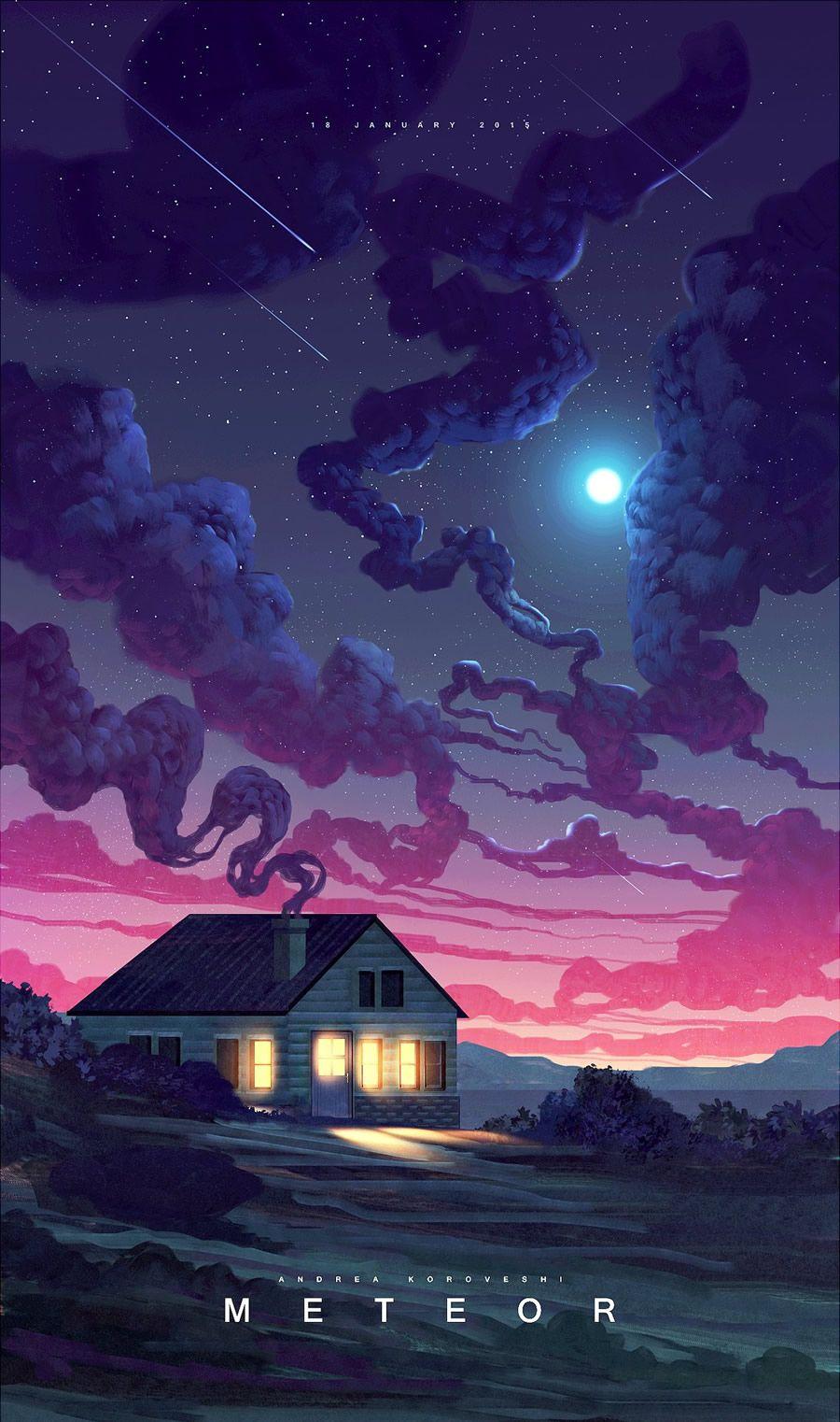 Mesmerizing Illustrations by Andi Koroveshi
