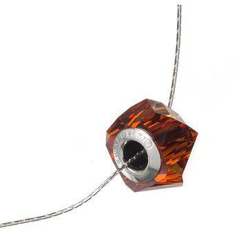 f05adeb7e41f Compra Collar Con Cristales Swarovski ® En Plata 925 Jands Joyería Artesanal-Rojo  online ✓