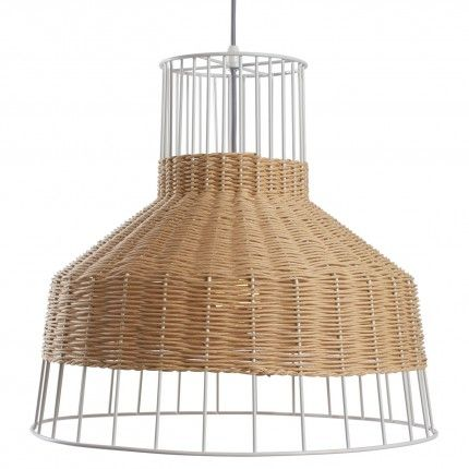 Laika Pendant Light Rattan Pendant Light Blu Dot